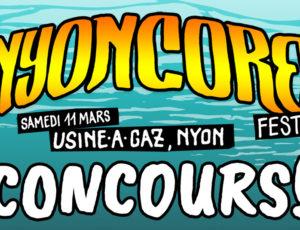 CONCOURS FESTIVAL NYONCORE 2017
