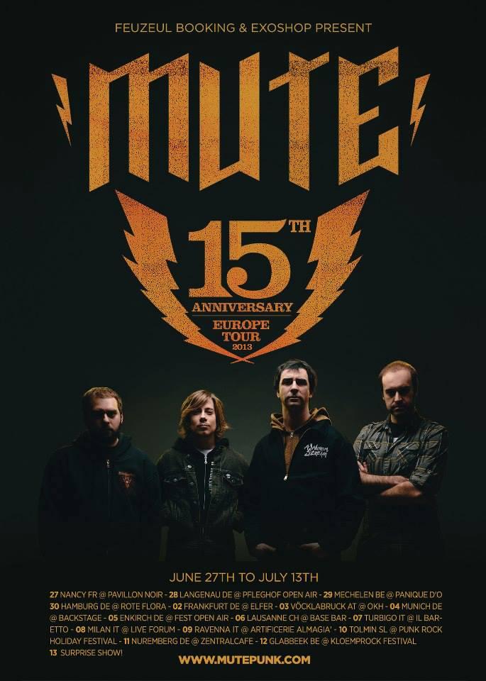 mute tour summer 2013