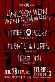 uncommonmenfrommars uberyou forest pooly fights&fires ilot 13 geneve 28.02.13