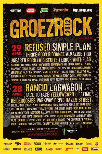 Groezrock-festival-2012-flyer