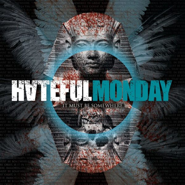hateful monday - it must be somewhere - cd cover