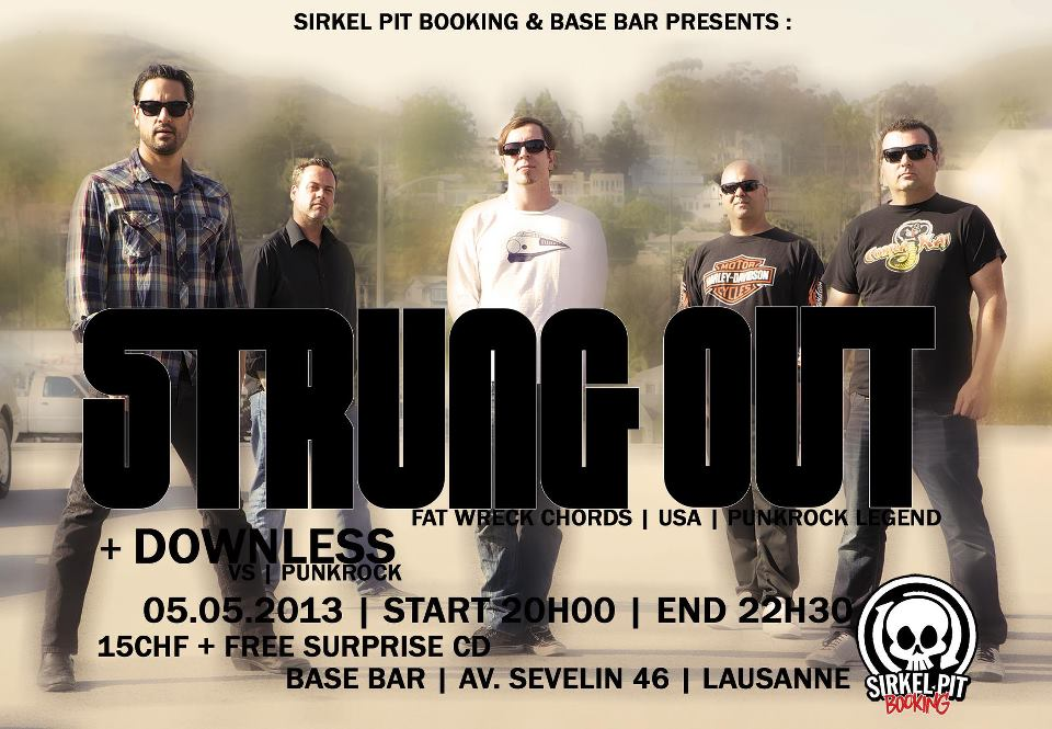 strung out - downless - base bar lausanne